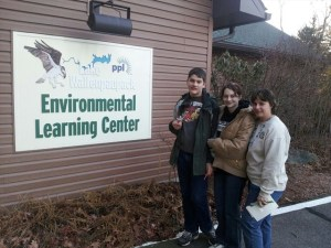 Geocaching.com's 0;)Angel team at PPL Lake Wallenpaupack Environmental Learning Center