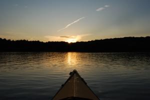 1st Place: Sunset at Lake Chillisquaque by Kathleen Braim