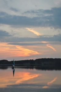 3rd Place: Sailboat at Sunset by Jenifer Wemple